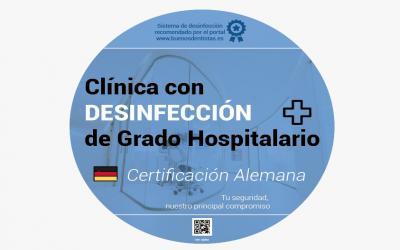 Desinfección de grado hospitalario para clínicas dentales, beneficios y garantías para pacientes